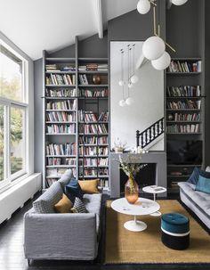Cette maison nous prouve que le gris a tout pour plaire !
