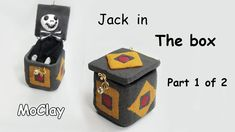 How to make Jack in the box toy - THE BOX - Part 1 of 2