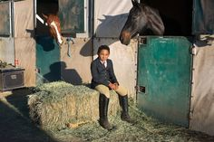 Compton Jr. Posse in Los Angeles, which brings inner-city children and horses together, reveals the therapeutic power of communing with fellow sentient beings.