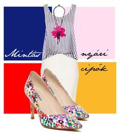 nyári cipők by stiliszta on Polyvore featuring Raey, River Island, L.K.Bennett and Lanvin