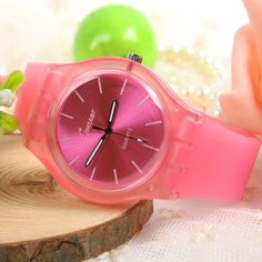 Classic Candy Color Watch For Couple Men and Women