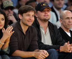 Pin for Later: Prominente Freundschaften wie aus dem Bilderbuch Leonardo DiCaprio und Tobey Maguire