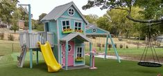 Imagine THAT! Playhouses & More...I think my daugher NEEDS this!