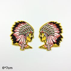 Indians patch Indians Embroidery patch iron on patch sew on patch 67cm  A31 patches iron on patch sew on patch Embroidery embroidered patch iron on patches patch embroidery patch back patch Indians Embroidery Indians patch