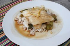 Steamed Sole with Ginger and 5 Spice from @Rebecca Subbiah of Chow and Chatter