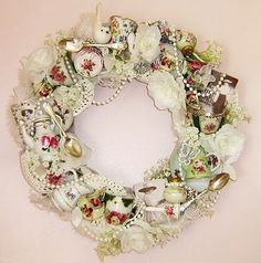 Teacup & Saucer Inspired Wreath: Teapreneur