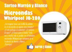 Marrón y Blanco sortea un fantástico microondas Whirlpool https://basicfront.easypromosapp.com/p/173639?uid=628507389