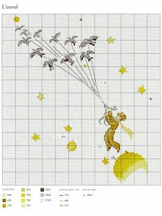 ru / Фото - Le Petit Prince a broder au point de croix 2017 - Chispitas - F - Pint Pic Beaded Cross Stitch, Cross Stitch Embroidery, Embroidery Patterns, Hand Embroidery, Cross Stitch Patterns, Cross Stitch Pillow, Cross Stitch Books, Cross Stitch Baby, Stitch Character