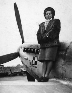 Supermarine Spitfire from Polish Squadron (RAF)