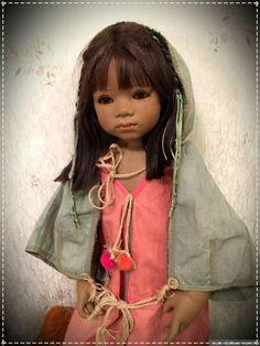 Не смогла устоять перед совершенством химочек... продолжение следует / Коллекционные куклы Annette Himstedt / Бэйбики. Куклы фото. Одежда для кукол