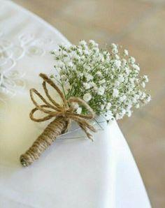 Bouquet gypso