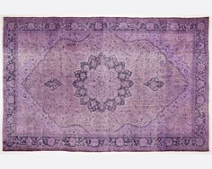 10,6 x 6,9 FT __319 X 208cm       Vintage Purple handmade faded-distressed overdyed rug Free shipping (4170) on Etsy, $863.00  ... gulp
