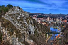 The old fortress in Uzice, Serbia
