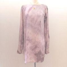 Tricia Fix Purple Tie Dye Cloud Dress