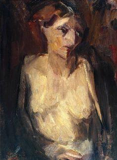 David Bomberg (1890‑1957), Lilian, 1932, Oil paint on canvas, 762x559 mm | Tate