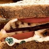 Just say the word sandwich and I get hungry. I just love sandwiches of all kinds and I am always looking for new twists on the sandwich. Lunch Recipes, Great Recipes, Dinner Recipes, Favorite Recipes, Healthy Recipes, Healthy Food, Healthy Eating, Basil Aioli, Grilled Chicken Sandwiches