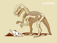 Illustrations by Glenn Jones Auckland, Glenn Jones, Concept, Graphic Design, Cartoon, Tees, Illustration, Dinosaurs, Wallpaper