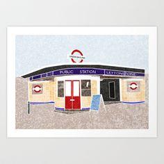 Shop Swarm Studio's store featuring unique designs on various products across art prints, tech accessories, apparels, and home decor goods. East London, Tube, Alice, Art Prints, Studio, Design, Art Impressions, Studios