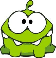 om nom cut the rope - Google Search