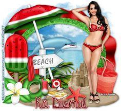 Art e Tutos: Watermelon Bikini (PTU) - Tutorial by Ka Dismal (PTU)