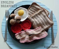 Amigurumi English Breakfast