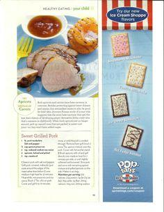 sweet grilled pork recipe