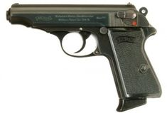 """James Bond (Sean Connery) is assigned a mm """"Walther PPK"""" by M. Know as the James Bond gun Walther Pp, Weapons Guns, Guns And Ammo, James Bond, Revolver Rifle, Tactical Life, Internet Movies, Concept Weapons, People Of Interest"""