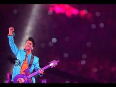 Prince covering Foo Fighters at Super Bowl