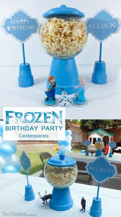 Disney Frozen Centerpiece