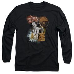 Twilight Zone/Enter At Own Risk Long Sleeve Adult T-Shirt 18/1