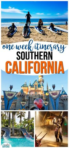 Plan the best vacation with these tips for a one week itinerary for Southern California | Disneyland | California travel | family travel