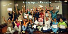 Taller en Guayaquil -Ecuador Escuela: Dulce Aroma noviembre- 2013