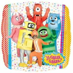 18 Inch Yo Gabba Gabba Mylar Balloon by Anagram. Save 50 Off!. $1.99. PLEASE NOTE THAT THE PRICE SHOWN DOES NOT -INCLUDE HELIUM -INFLATION. THIS BALLOON IS SHIPPED UN-INFLATED TO OUR CUSTOMERS. PLEASE -INQUIRE IN YOUR LOCAL AREA ABOUT HELIUM BALLOON -INFALTION PRICES. PRICES WILL VARY BY LOCATIONS AND REGIONS.. 18 Inch Yo Gabba Gabba Mylar Balloon