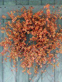 Six in the Suburbs: Fall Wreath Ideas 2013