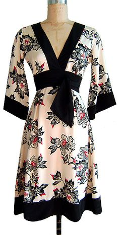 #streetmoda Kimono Dress #dresses Save 25% off dresses and more at streetmoda.com with PINSM code.