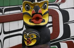 Love the Facial Expression on this Totem Pole