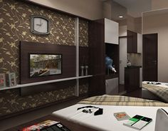 """Check out new work on my @Behance portfolio: """"Easton apartment, bandung"""" http://on.be.net/1IqOp30"""