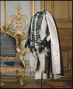 suit belonging to Gustav III of Sweden, 1772