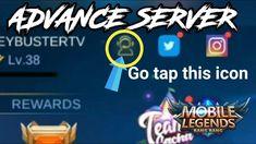 PAANO MAGKARON AGAD NG ADVANCE SERVER - MLBB Fb Page, Youtube, Youtubers, Youtube Movies