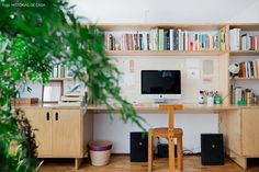 Home Office, Home Photo Studio, Chair Design Wooden, Ikea Bed, Interior Decorating, Interior Design, Modern Chairs, Decoration, Just In Case