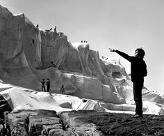 Christo and Jeanne-Claude   Wrapped Coast, One Million Square Feet, Little Bay, Sydney, Australia, 1968-69