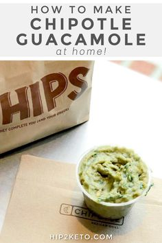 Stop paying extra and make your own Chipotle guacamole at home with their recently released official recipe! Copycat Recipes, New Recipes, Vegan Recipes, Cooking Recipes, Favorite Recipes, What's Cooking, Mexican Dishes, Mexican Food Recipes, Mexican Cooking