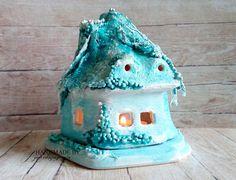 agnieszkapasjonata: 684. Mroźny domek ...[Scrap'n'skill] Snow Globes, Cake, Home Decor, Decoration Home, Room Decor, Food Cakes, Cakes, Tart, Cookies
