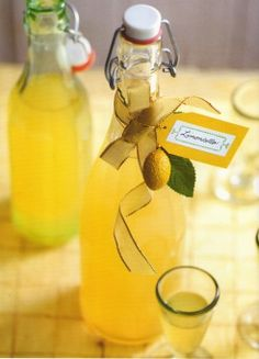 Homemade Lemoncello