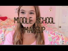 6th grade makeup tutorial ( all drugstore ) - YouTube