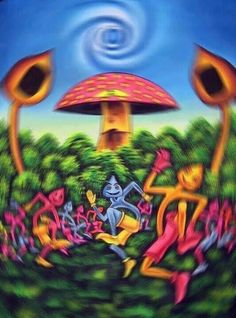 MUSHROOMS! MAGICAL - TRIP ART! ❤