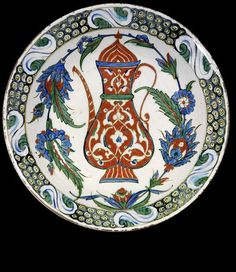 Dish   1590-1600 Iznik Turkey