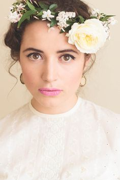 We LOVE Flower Crowns! Fine Art Women's Portraiture By novella.