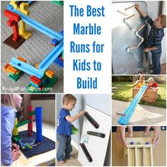 The Best Marble Runs to Build Stem Activities, Activities For Kids, Crafts For Kids, Science Experiments Kids, Science For Kids, Early Learning, Fun Learning, Kindergarten Stem, Stem Challenges