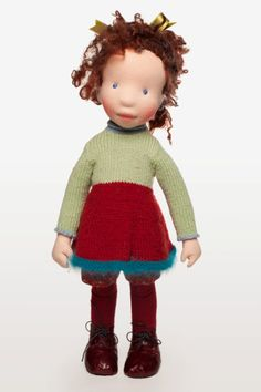Isabelle Handmade cloth doll partial payment by AldegondeCeelen